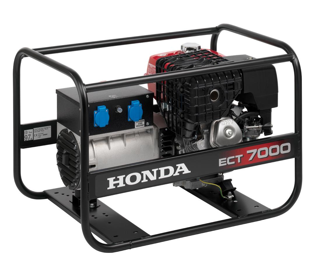 Honda ECT 7000 GV Agregat prądotwórczy